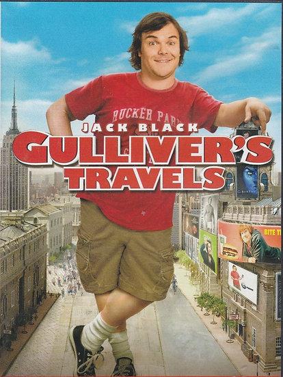 Gullivers Travels (DVD 2011- 2 disc set) Jack Black Emily Blunt/Jason Segel/Aman