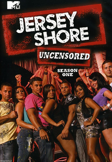 MTV Jersey Shore Series: Complete Uncensored Season One 1 (DVD Region 1)