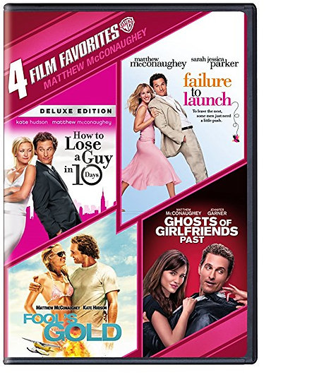 How to Lose a Guy in 10 Days, Failure to Launch, Fools Gold, Ghost of Girlfriend