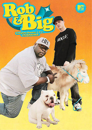 Rob & Big - The Complete Seasons 1 2 - Uncensored (DVD, 2008, 4-Disc Set