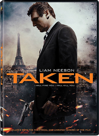Taken and Taken 2 DVD iam Neeson