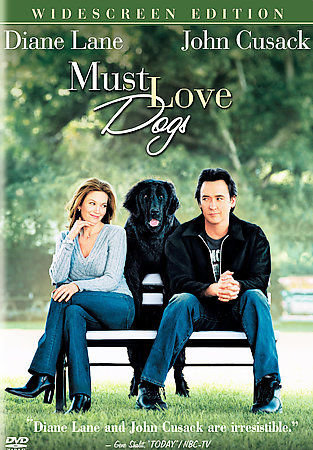 USED-Must Love Dogs (DVD, 2005, Widescreen) Diane Lang, John Cusack