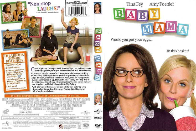 Baby Mama 2008 Widescreen
