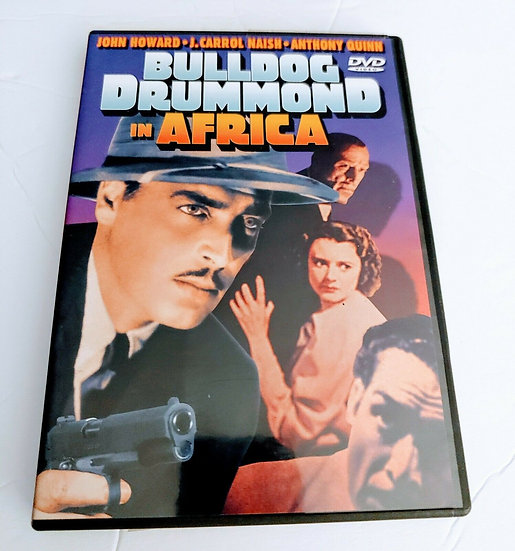BULLDOG DRUMMOND IN AFRICA DVD