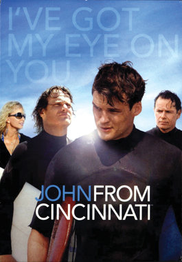 USED-John From Cincinnati - The Complete First Season (DVD, 2008, 3-Disc