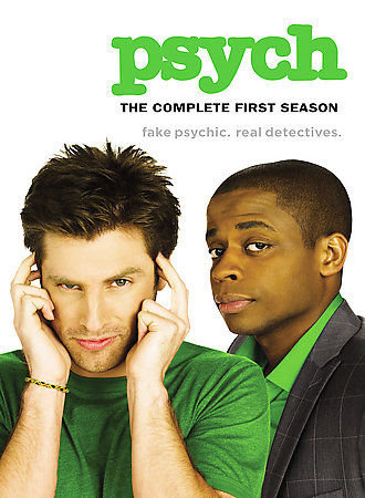 Psych - The Complete First Season (DVD, 2007, 4-Disc Set)