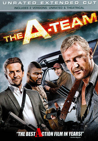 The A Team (201NEW DVD Promo ) Unrated Extended Cut-Liam Neeson, Bradley Cooper