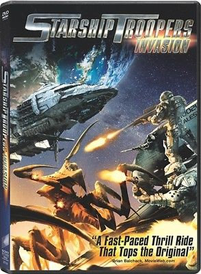 Starship Troopers Invasion DVD Ultraviolet