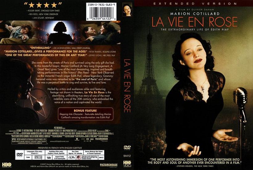 La Vie En Rose (DVD, 2007) Marion Cotillard, Gérard Xavier Marcel Depardieu