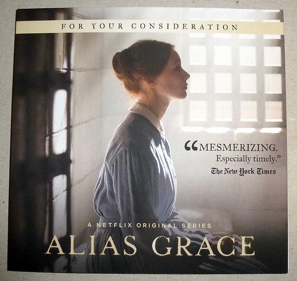 FYC 2018 Alias Grace - For Your Emmy Considertion-(DVD 2 disc) Netflix