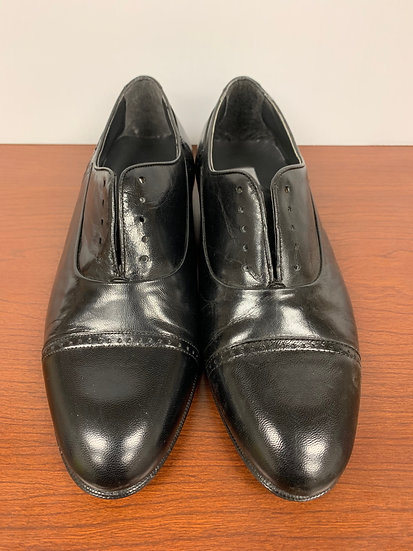 Thom McAn Men's Black Leather Shoes size 7