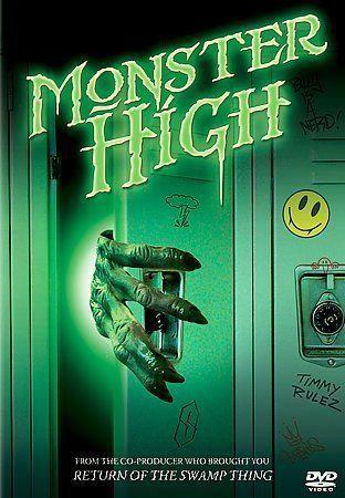 NEW Monster High (DVD, 2005 Fullscreen) Dean Iandoli