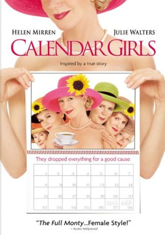 Calendar Girls DVD Helen Mirren, Julie Walters