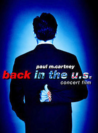 USED Paul McCartney Back in the US Concert Film DVD