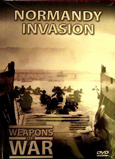Weapons of War Series Normandy Invasion (DVD + 24 Page Booklet) #19
