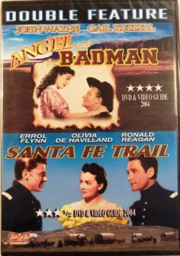 USED-Double Feature: Angel and the Badman / Santa Fe Trail (DVD)  John Wayne