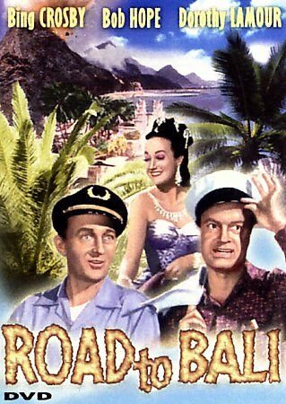 USED- Road To Bali DVD Staring Bob Hope, Bing Crosby, & Dorothy Lamour t COLOR D