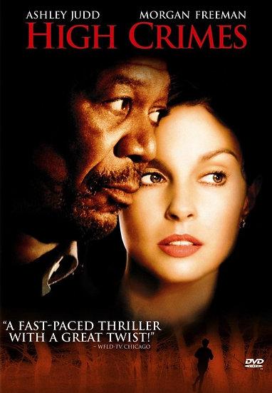 High Crimes (DVD, 2002 widescreen) Ashley Judd Morgan Freeman