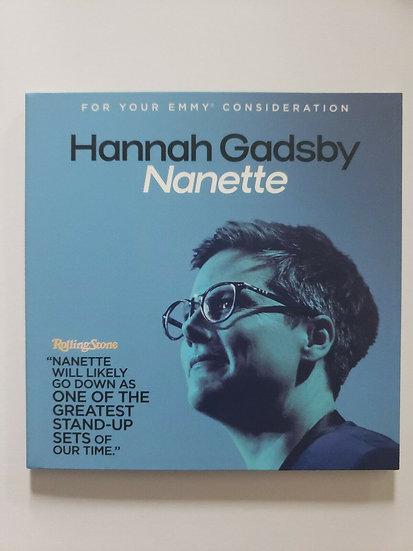 2 FYC 2019 Hannah Gadsby Nanette & AMY SCHUMER GROWING-NETFLIX Emmy DVD