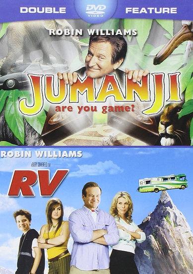 Jumanji & RV Robin Williams Double Feature  (DVD, 2014) WS