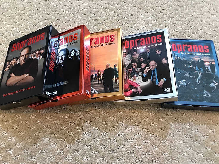 5 The Sopranos complete First Second Third Fourth and Fifth Seasons (DVD)