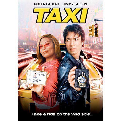 NEW Taxi (DVD 2004) Widescreen- Queen Latifah, Jimmy Fallon