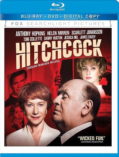 USED-Hitchcock (Blu-ray + DVD + Digital Copy 2012)  Anthony Hopkins/Helen Mirren