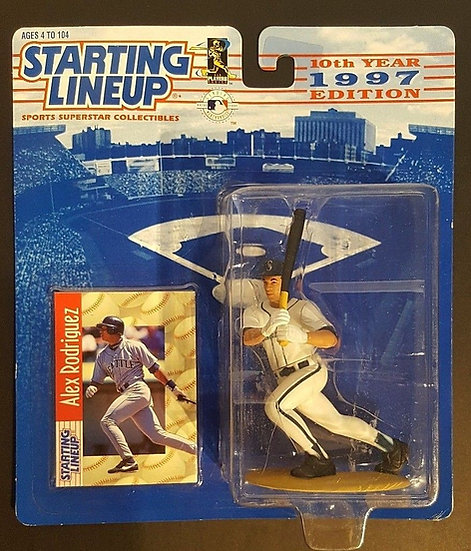 NEW Alex Rodriguez Seattle Mariners 1997 Starting Lineup -10th year Edition