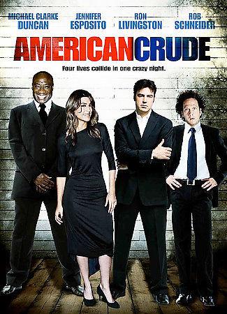 American Crude (DVD, 2008, WS) Jennifer Esposito, Rob Schneider