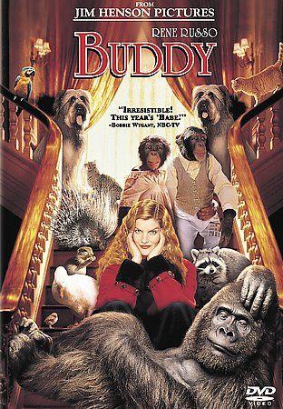 Buddy (DVD, 2004) Rene Russo, Robbie Coltrane, Jim Henson Pictures