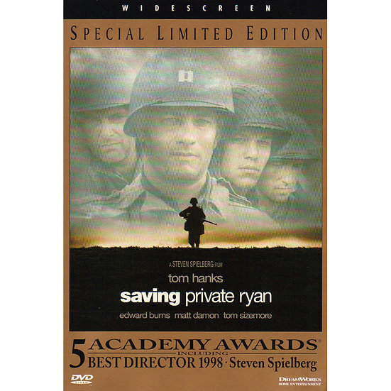 USED-Saving Private Ryan (DVD, 1999)  Widescreen Special Limited Edition