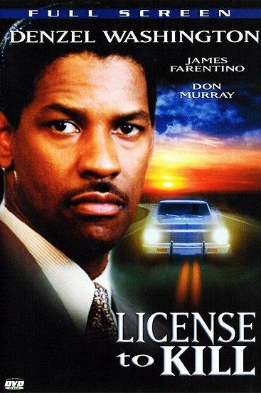 License to Kill (DVD, 2007) Denzel Washington-Full Screen Not Rated Thri