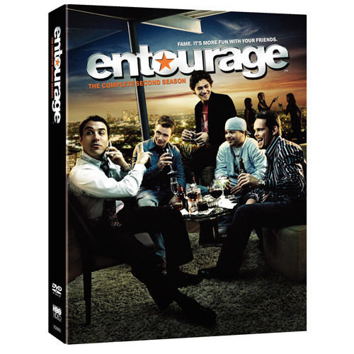 USED-Entourage: The Complete Second Season (DVD, 2006, 3-Disc Set)