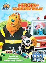 Bear in the Big Blue House - Heroes of Woodland Valley (DVD, 2003)