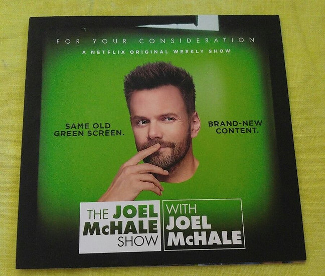 2 FYC 2018 The Joel McHale Show and Jerry before Seinfield DVD For Your Co