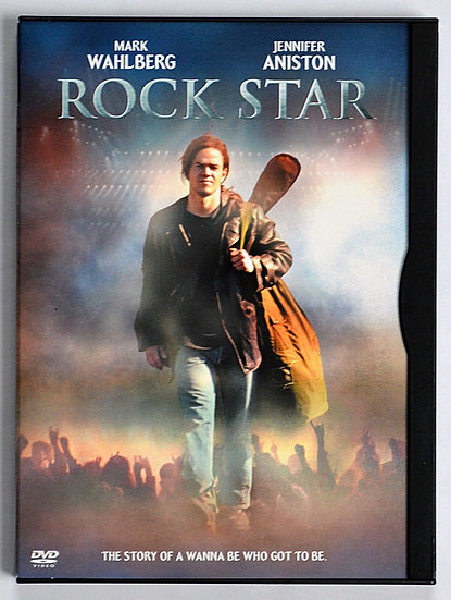 Rock Star (DVD 2002,  Widescreen)   Mark Wahlberg Jennifer Aniston