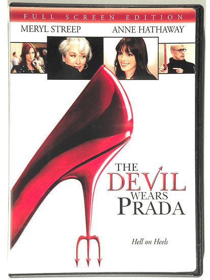 The Devil Wears Prada (DVD, 2006, Full Screen)  Ann Hathaway