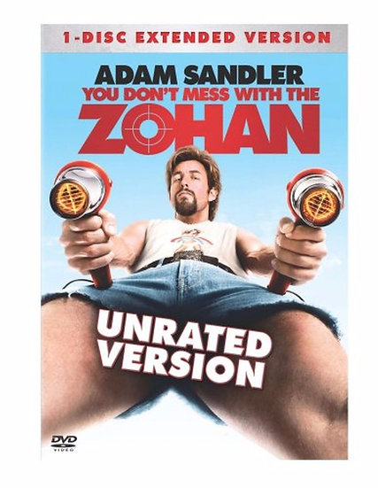 You Don't Mess with the Zohan (DVD 2008 1-Disc ex