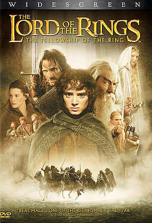 The Lord of the Rings The Fellowship of The Ring  (2 disc set Widescreen) and Th