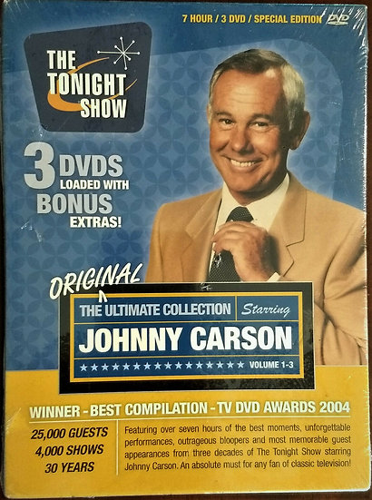 The Tonight Show Starring Johnny Carson DVD-3