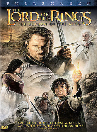 USED-The Lord of the Rings: The Return of the King (DVD, 2004, 2-Disc, Full-Scre