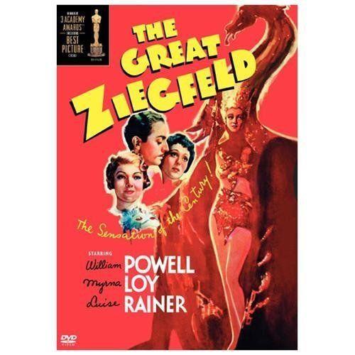 NEW The Great Ziegfeld 1936  (DVD, 2004 B&W) William Powell, Myrna Loy