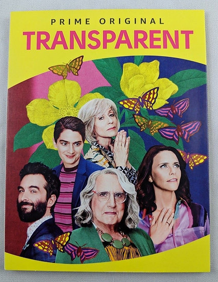 FYC 2018 TRANSPARENT For Your Consideration (DVD 2 disc) AMAZON PRIME