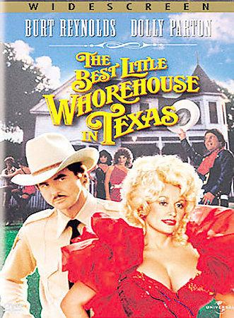 The Best Little Whorehouse in Texas (DVD, 2002)  Burt REynolds/Dolly Parton