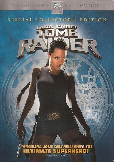 Lara Croft: Tomb Raider (DVD, 2001, Widescreen Region 1)  Angelina Jolie