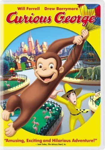 USED-Curious George (DVD)