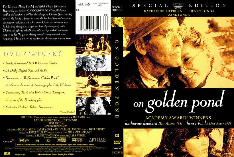 On Golden Pond (DVD 2003) Special Edition Katharine Hepburn and Henry & Jane Fon
