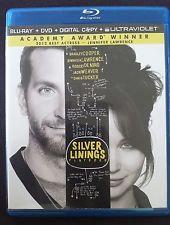 Silver Linings Playbook (Blu-ray/DVD, 2013, 2-Disc + Digital Copy+ UltraViolet
