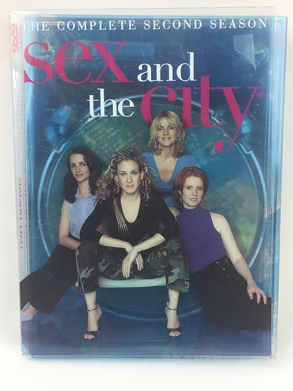 Sex and the City: The Complete Second Season (DVD, 2001, 3-Disc)