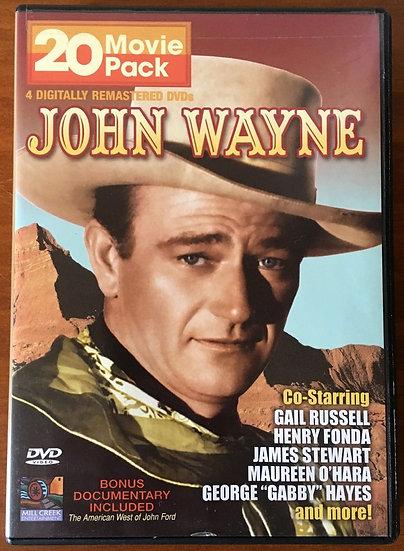 John Wayne - 20 movie pack - DVD - 3 Discs